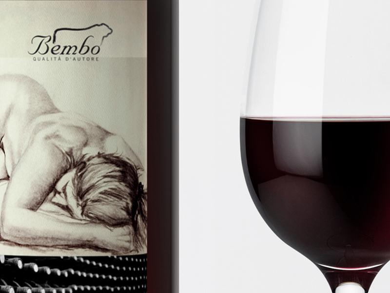 Bembo etichetta vino