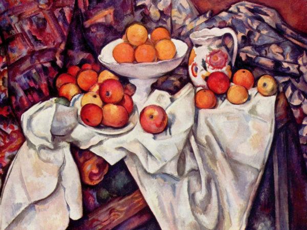 Cesto di arance di Cezanne